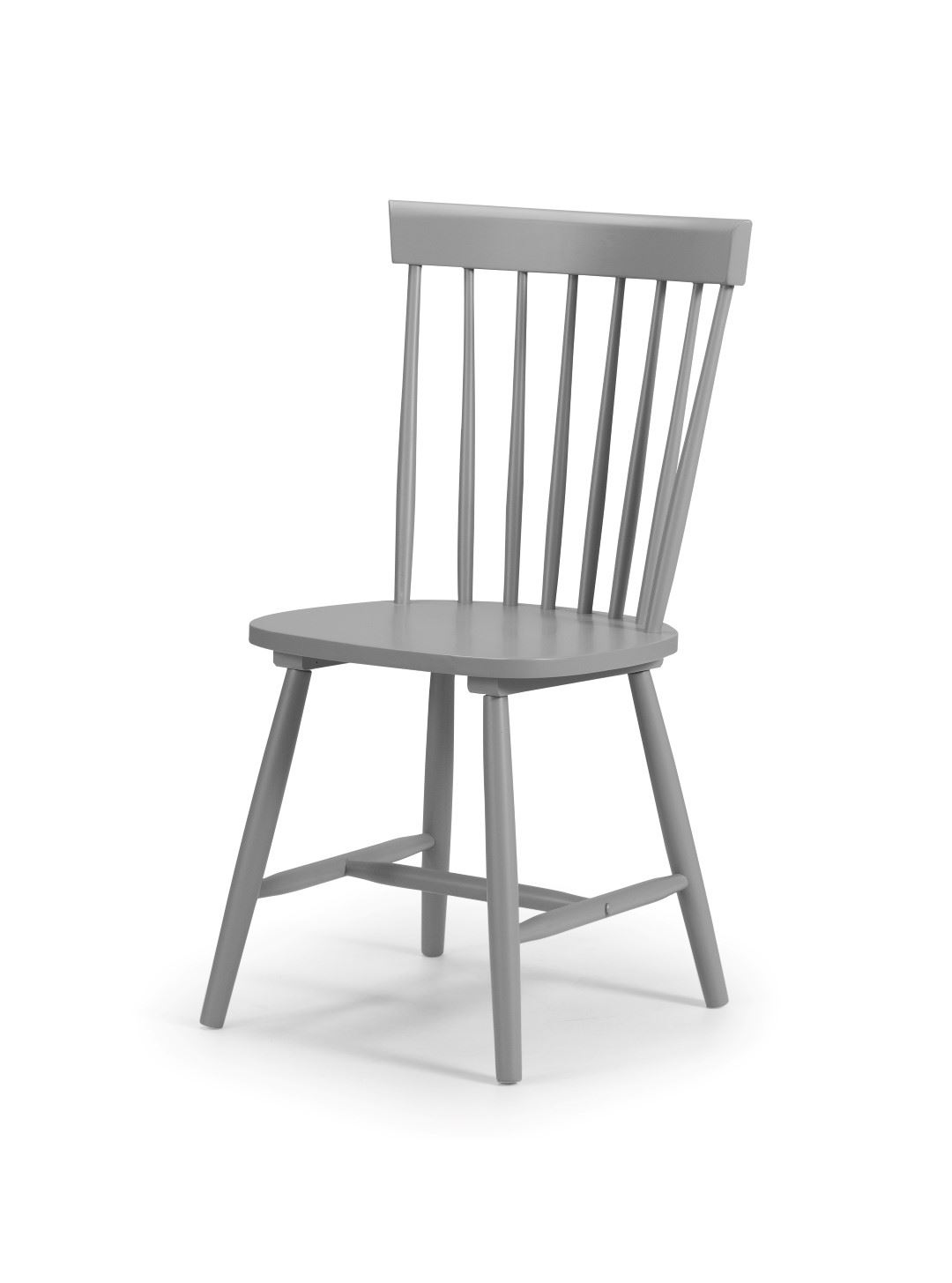 Julian Bowen Torino Grey Kitchen Dining Chair x 4 Solid Wood Traditional Style