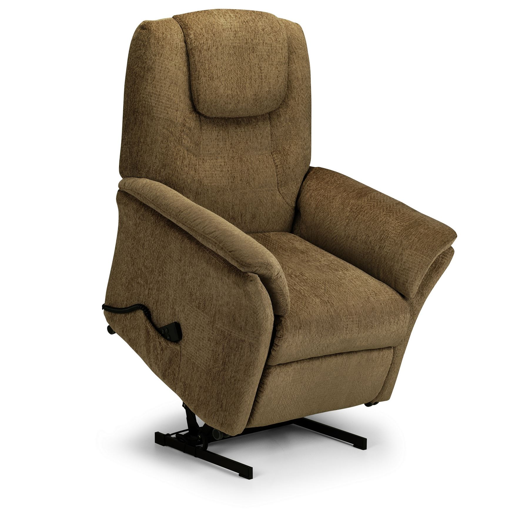 Julian Bowen Riva Electric rise recliner Chair Mushoom Chenille Fabric