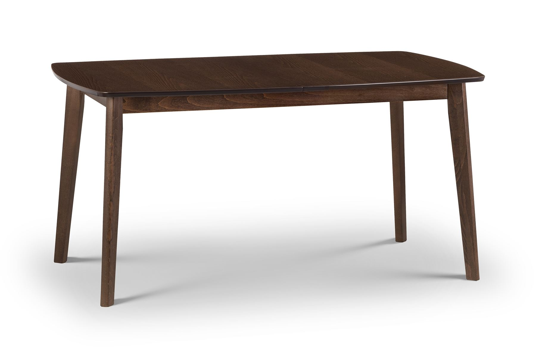 Julian Bowen Kensington Walnut Rectangular Extending Dining Table Solid Wood