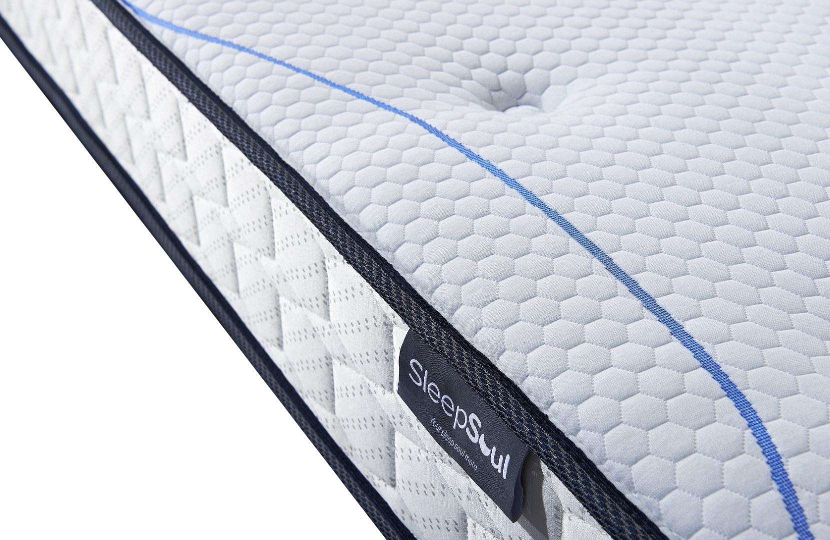 Birlea 135cm Sleepsoul Air Open Coil Spring Mattress 4FT6 Double