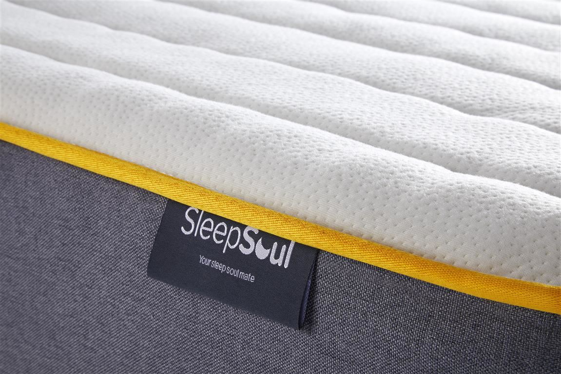 Birlea Sleep Soul Comfort Single 90cm 3FT Mattress Pocket Sprung