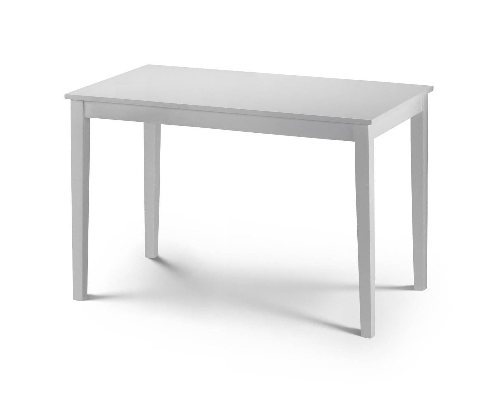Julian Bowen Taku White Dining Table