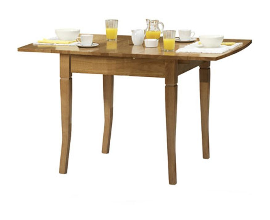 Julian Bowen Newbury Extending Dining Butterfly Table Solid Wood Maple Finish